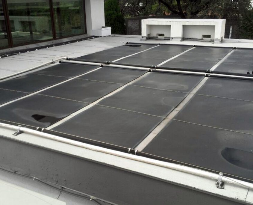 Instalación de calentadores solares para alberca