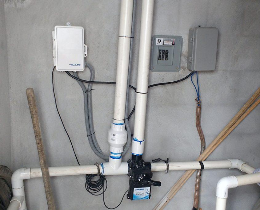 Sistema de control para los calentadores solares para alberca