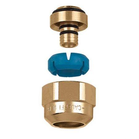 Racor de diámetro autoadaptable - tubos monocapa o multicapa